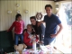 """<p align=""""left"""">Maria Millo Bonadia con i suoi nipoti e la cagnolina Daisy dalla Svezia</p>"""